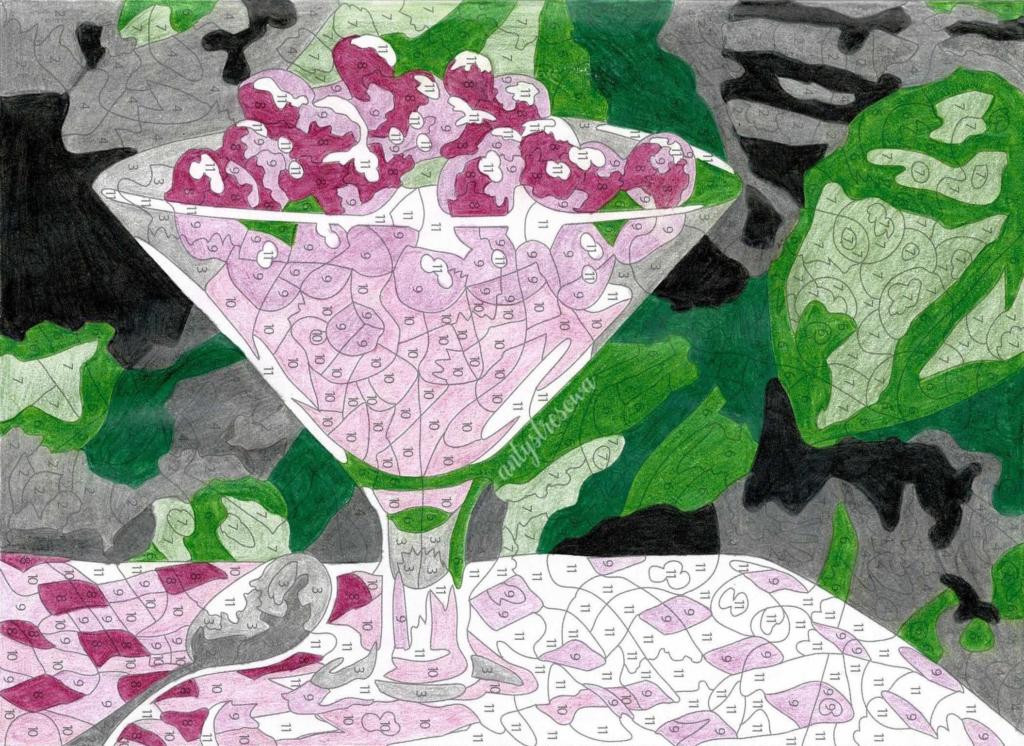 100 Coloriages mystéres - Jérémy Mariez, strona 78